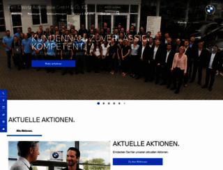 ah-fett-wirtz.bmw.de screenshot