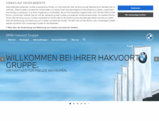 ah-hakvoort.bmw.de screenshot