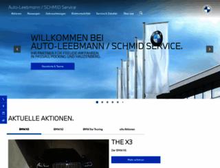 ah-leebmann.bmw.de screenshot