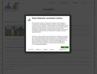 aha-exter.de screenshot