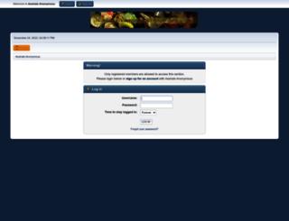 aha-forums.com screenshot