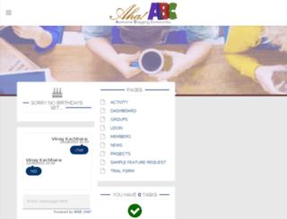 ahaabc.com screenshot