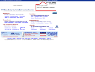 ahahome.com screenshot