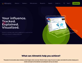 ahajournals.altmetric.com screenshot