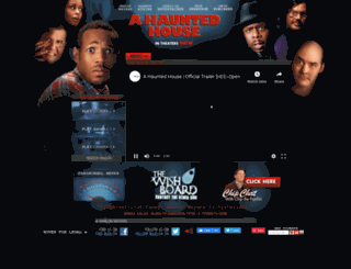 ahauntedhousemovie.com screenshot