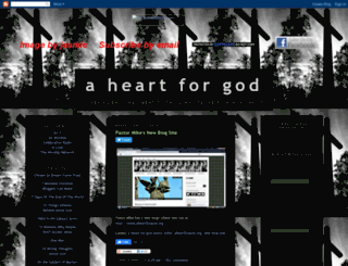 aheartforgod.blogspot.com screenshot