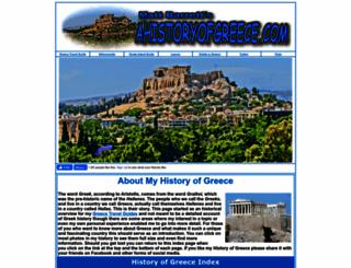 ahistoryofgreece.com screenshot