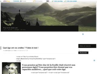 ahjenelesavaispas.kazeo.com screenshot
