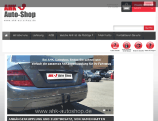 ahk-autoshop.de screenshot
