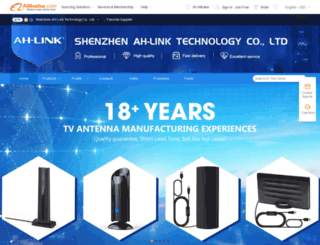 ahlink.en.alibaba.com screenshot