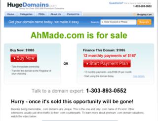 ahmade.com screenshot