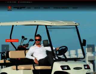 ahmadgroup.co screenshot