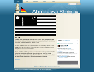 ahmadiyya-rheingau.de screenshot