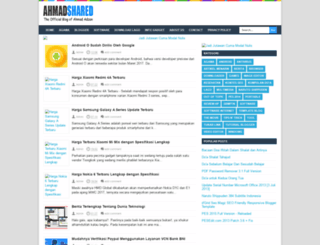 ahmadshared.blogspot.com screenshot