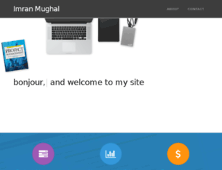 ahmed.mughal.com screenshot