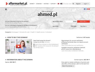ahmed.pl screenshot