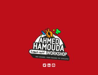 ahmedhamouda.com screenshot