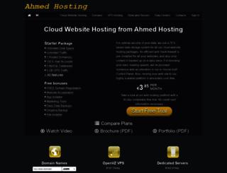 ahmedhosting.duoservers.com screenshot