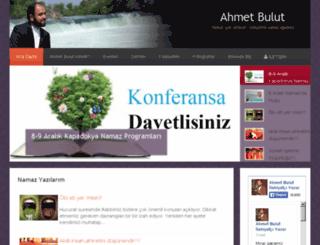ahmet-bulut.com screenshot