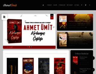 ahmetumit.com screenshot