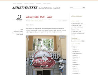 ahmetyemekte.com screenshot