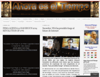 ahoraeseltiempo.wordpress.com screenshot