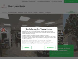 ahorn-apotheke-essen-app.de screenshot
