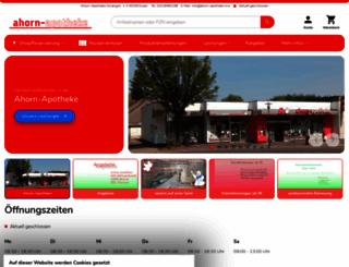 ahorn-essen.de screenshot