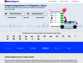 ahorraseguros.com screenshot