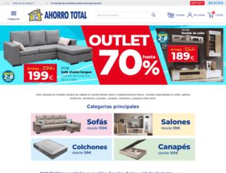 ahorrototal.com screenshot
