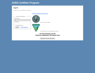 ahraoutfitters.org screenshot