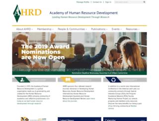 ahrd.org screenshot