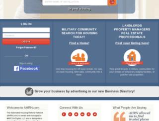 ahrn.com screenshot