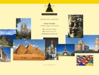 ahrner-touristik.com screenshot