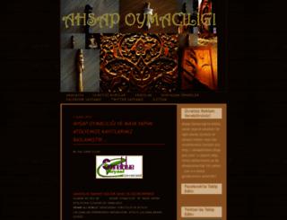 ahsapoymaciligi.blogspot.com screenshot