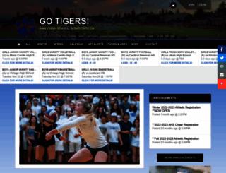 ahsathletics.org screenshot