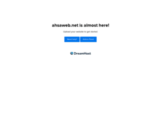 ahsaweb.net screenshot