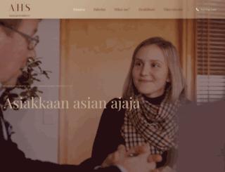 ahslaki.fi screenshot