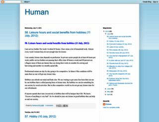 ahumanbd.blogspot.com screenshot