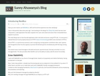 ahuwanya.net screenshot