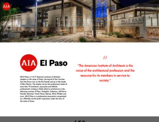 aiaelpaso.org screenshot