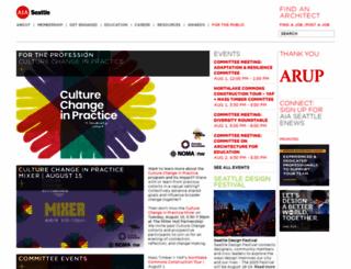 aiaseattle.org screenshot