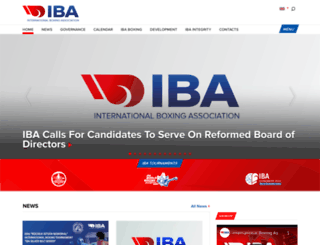 aiba.org screenshot