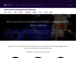 aibn.uq.edu.au screenshot