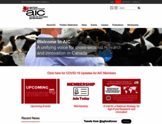 aic.ca screenshot