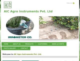 aicagroinstrument.com screenshot