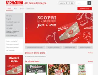 aicemiliaromagna.it screenshot