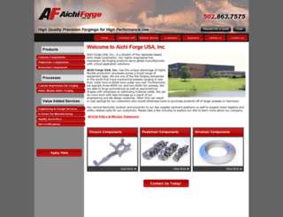aichiforge.com screenshot