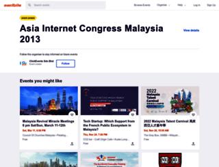 aicmy2013.eventbrite.sg screenshot