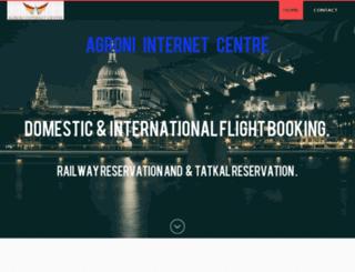 aicnadia.weebly.com screenshot